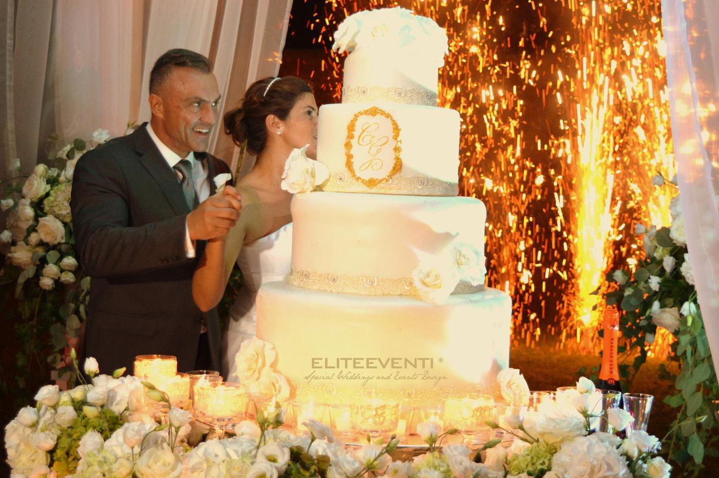 Torta Nuziale Charming Wedding