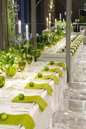 Matrimonio a tema con dominanza verde by eliteeventi