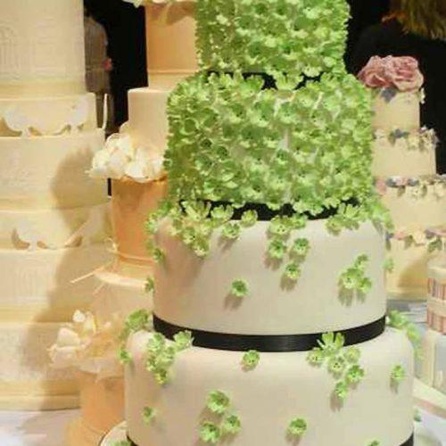 Torta Nuziale matrimonio a tema verde by eliteeventi