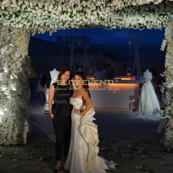Karen Tran e Alba Peneva al Gala Dinner Party di Borgo Egnazia