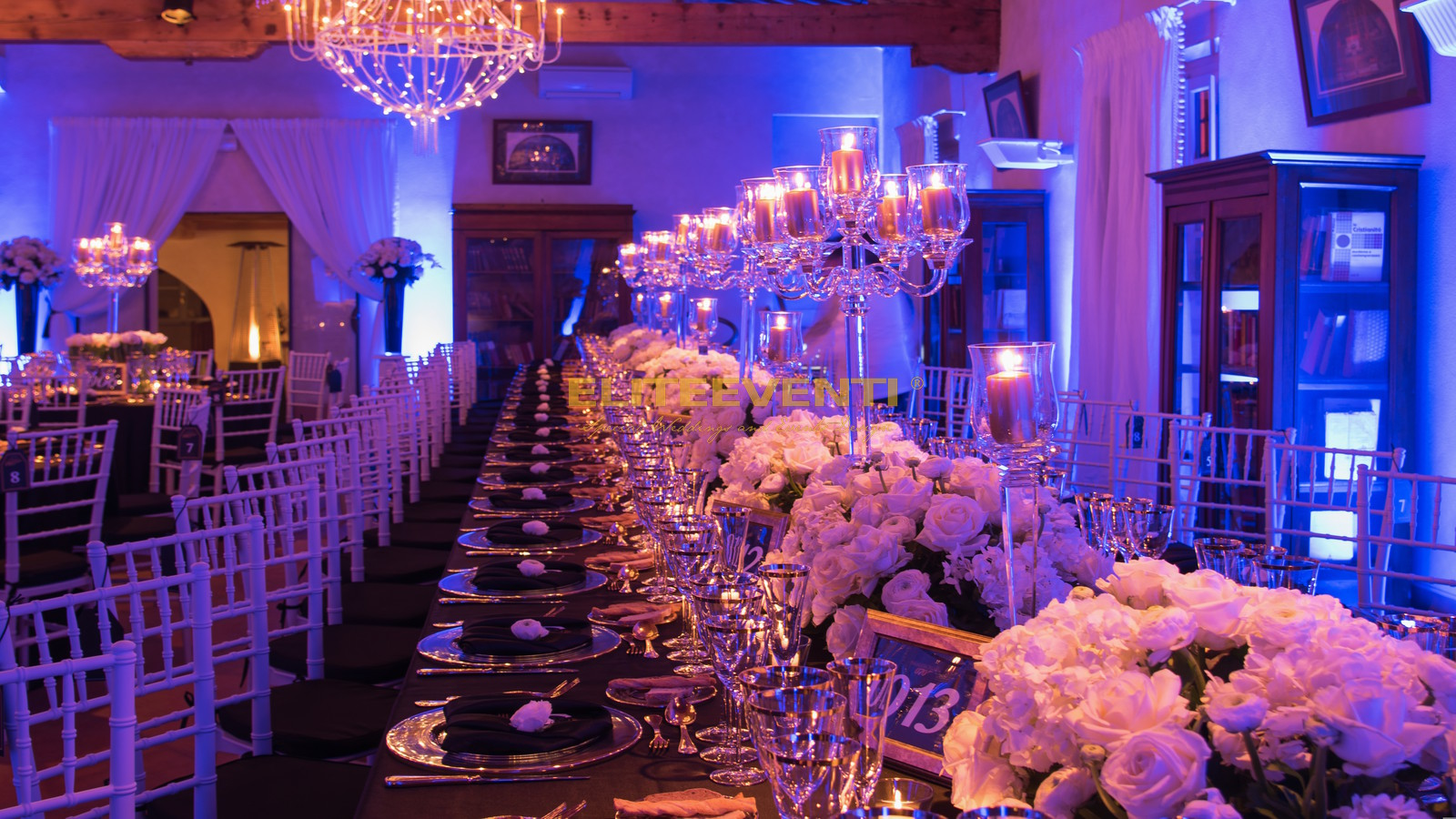 allestimento floreale eliteeventi dinner party