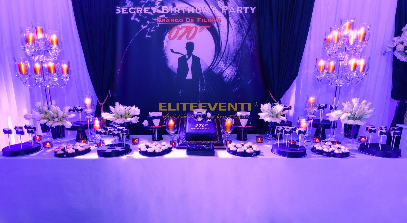 Allestimento torta di compleanno by eliteeventi