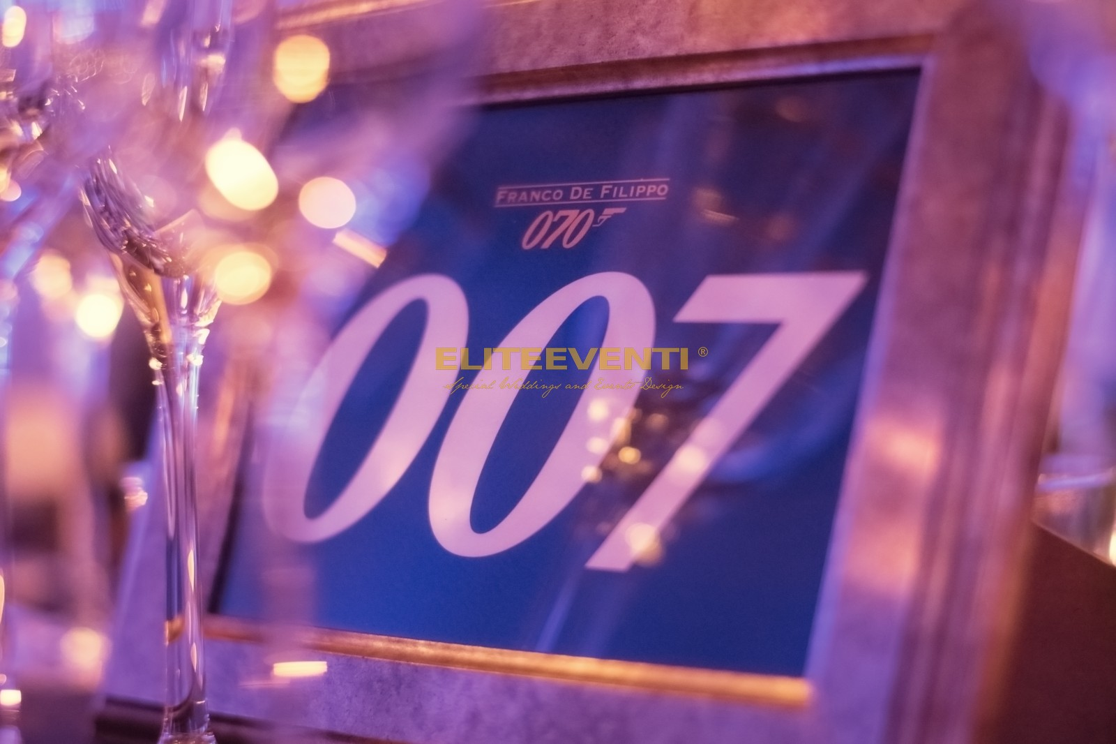 Festa di compleanno a tema 007 by eliteeventi