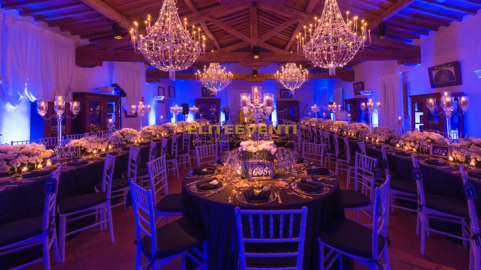 Villa Scory dinner party by Eliteeventi