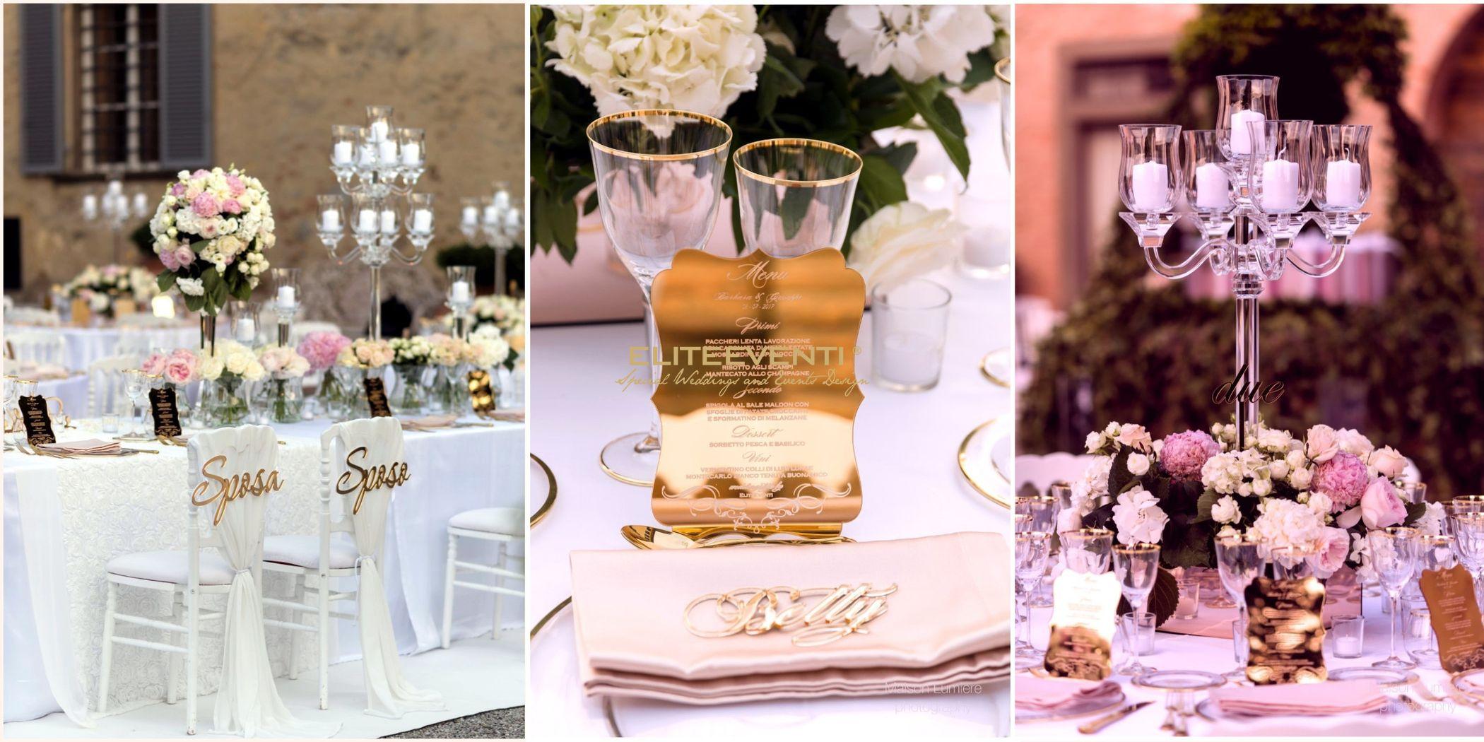 Dettagli allestimento matrimonio a Villa Scorzi (PI) - By Eliteeventi