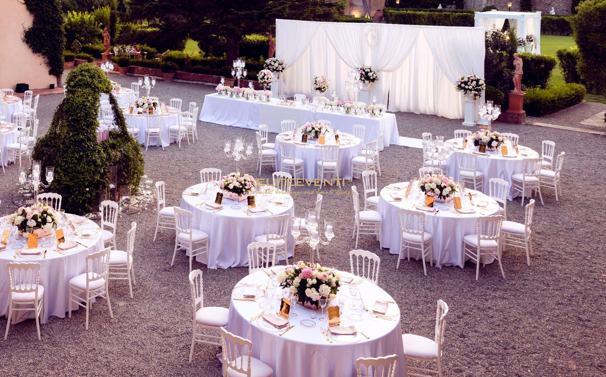 Allestimento matrimonio a Villa Scorzi (Pisa) - By Eliteeventi