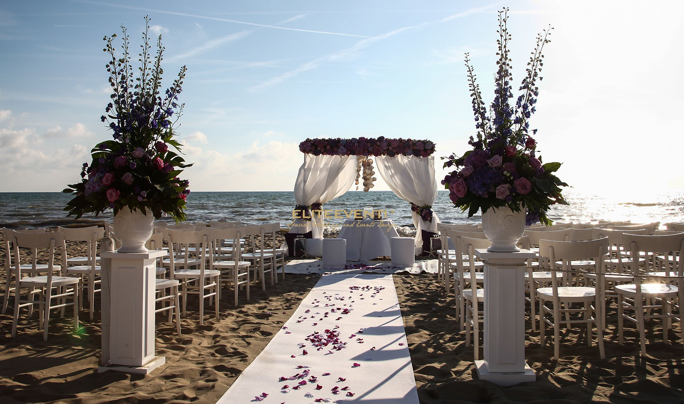 Matrimonio Spiaggia Eventi : Beach wedding party eliteeventi
