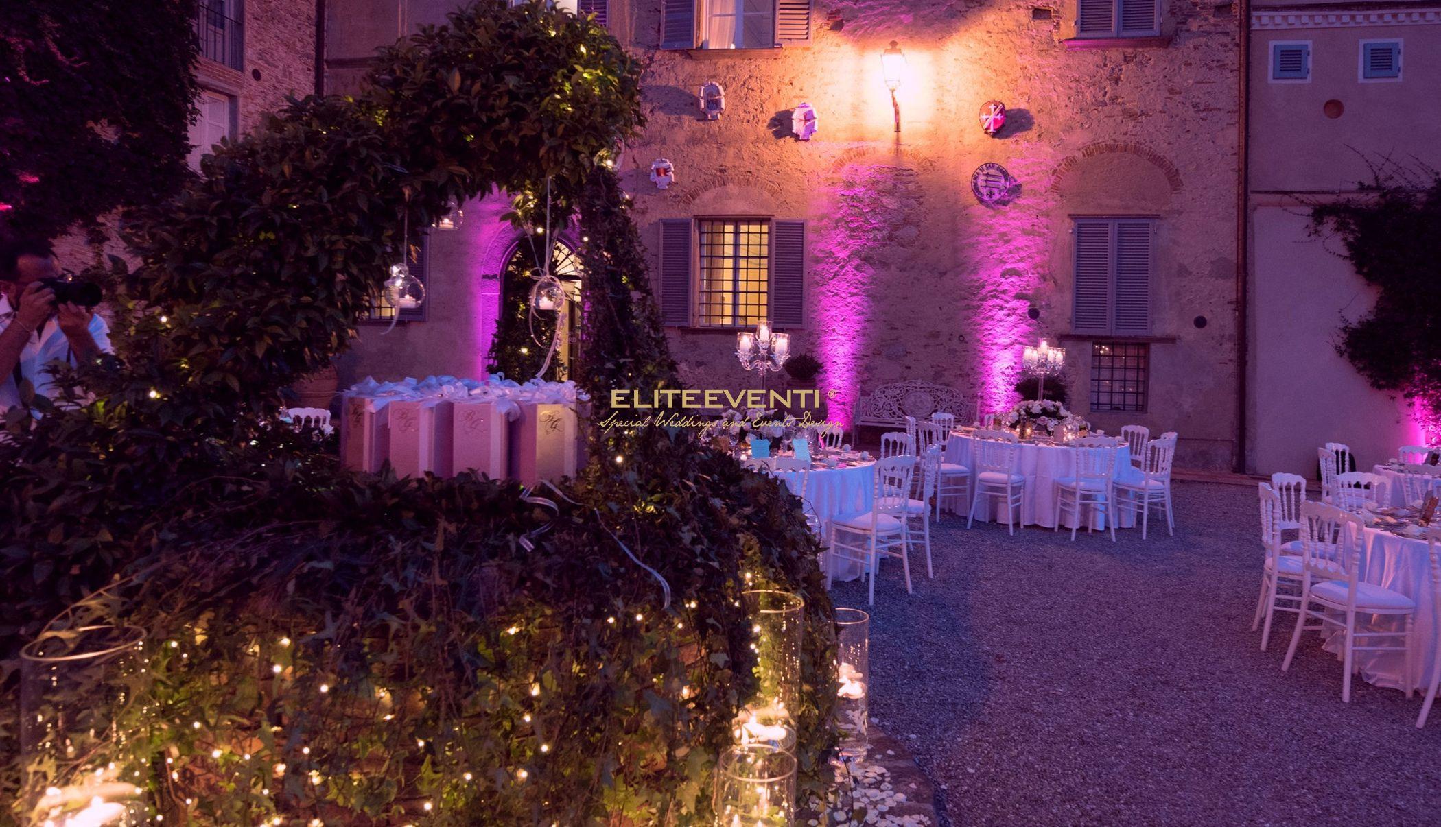 Luci a Villa Scorzi by Eliteeventi