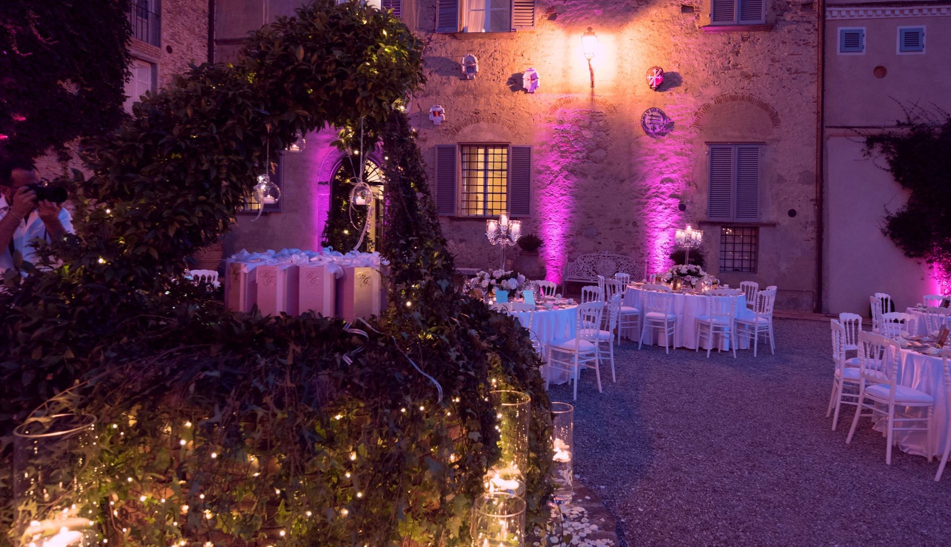 Luci a Villa Scorza by Eliteeventi