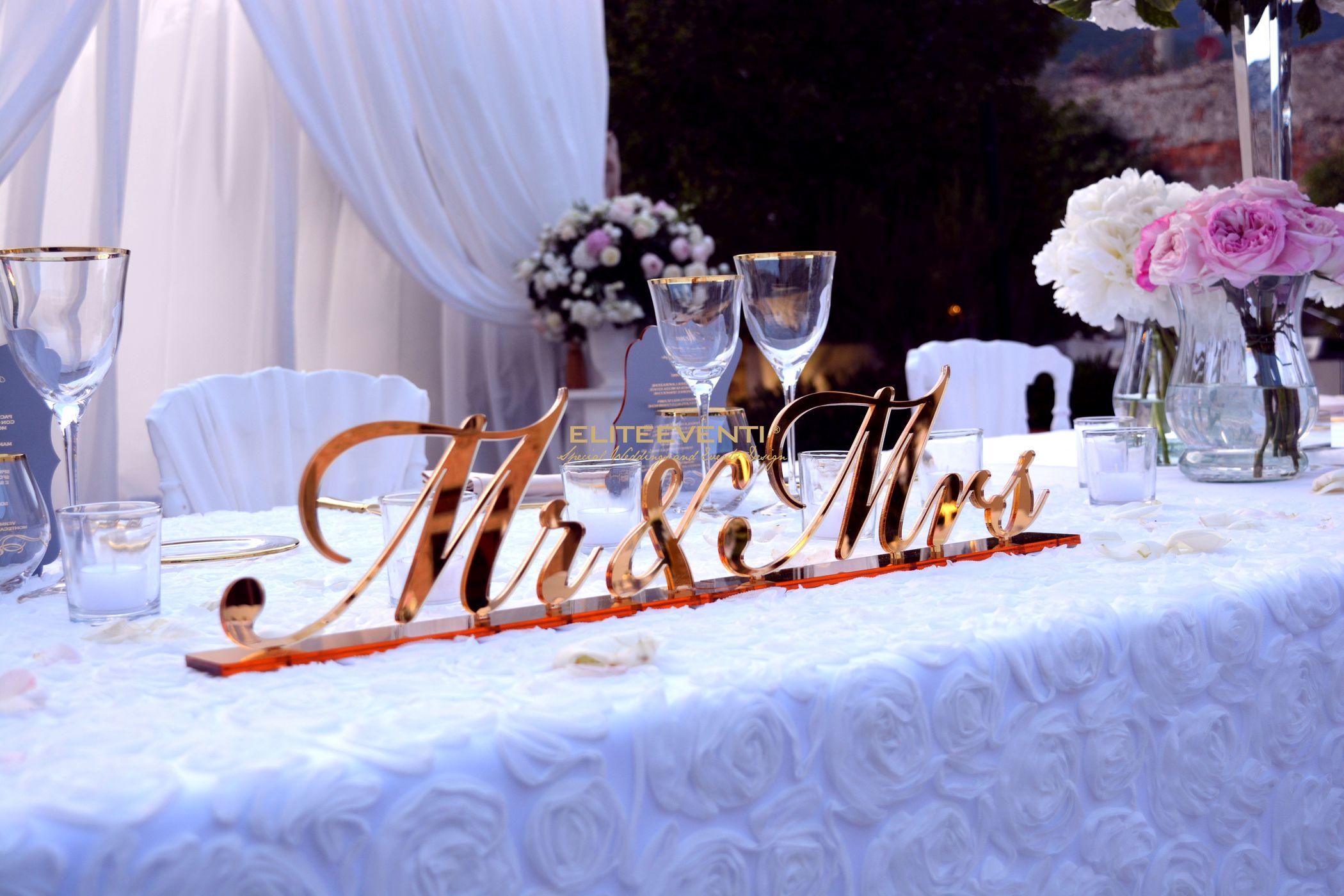 Dettaglio allestimento matrimonio by Eliteeventi